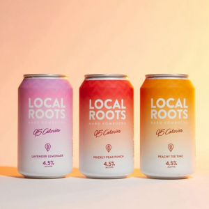 Local Roots Low-Calorie Hard Kombucha
