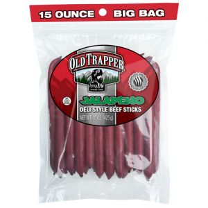 Old trapper beef sticks
