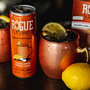 Rogue Ale Ginger Lemon Whiskey Mule