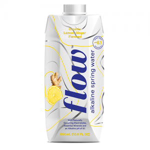 flow flavored spring water