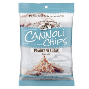 golden cannoli chips