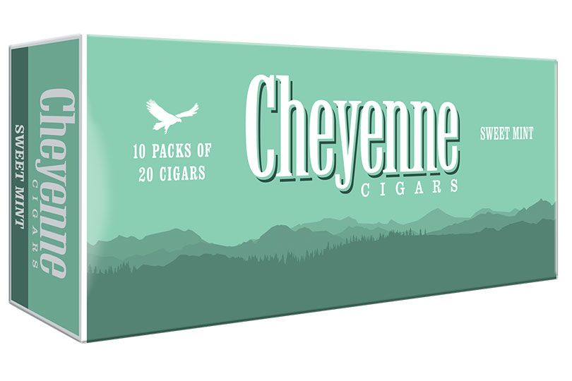 cheyenne cigars sweet mint carton