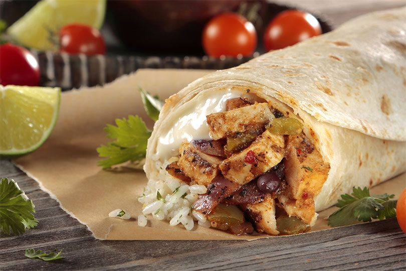 three bold brothers grilled chicken burritos
