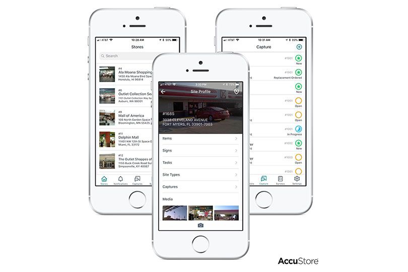 accustore mobile app