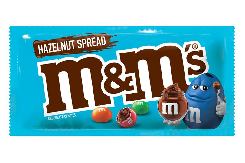 m&ms hazelnut spread