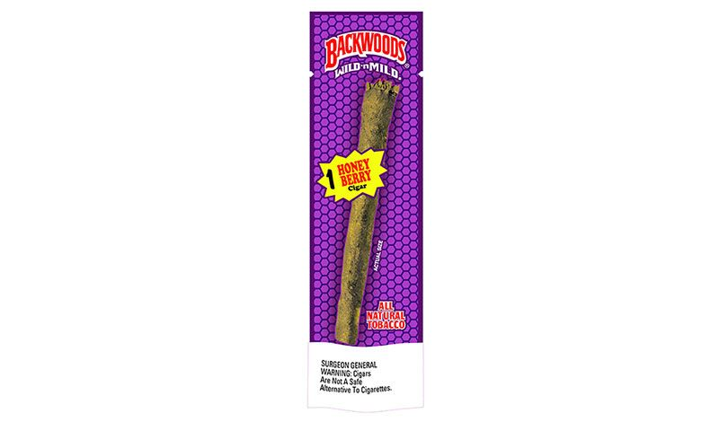 backwoods honey berry singles pouch
