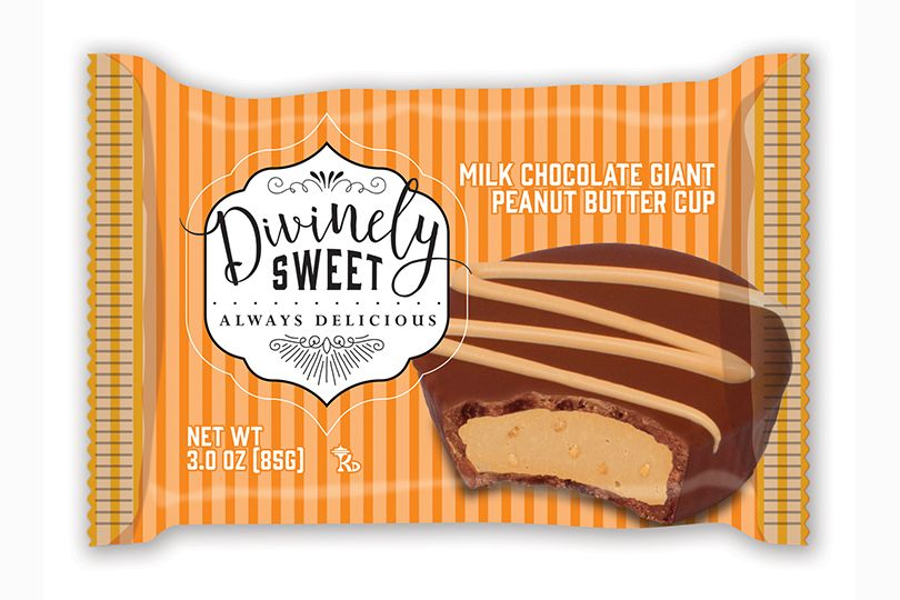 Divinely Sweet Milk Chocolate Giant Peanut Butter Cup