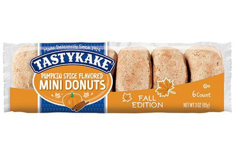 flower foods tastykake pumpkin mini donuts