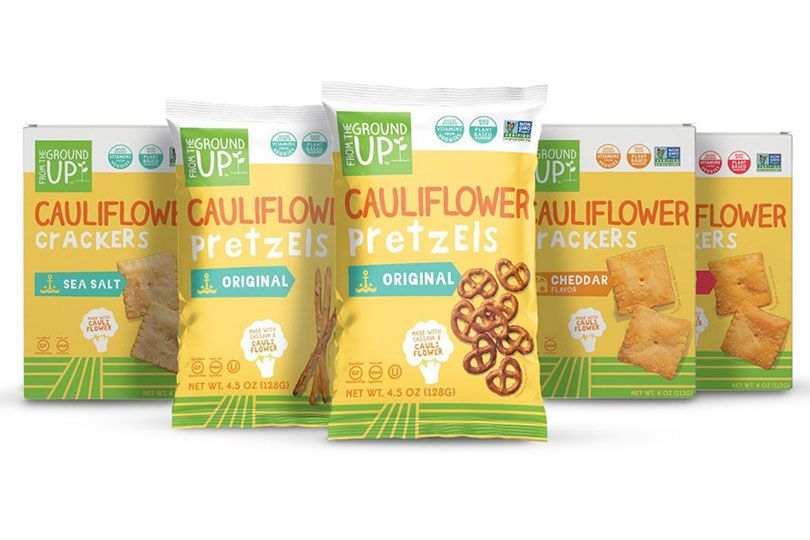 from the ground up cauliflower snacks