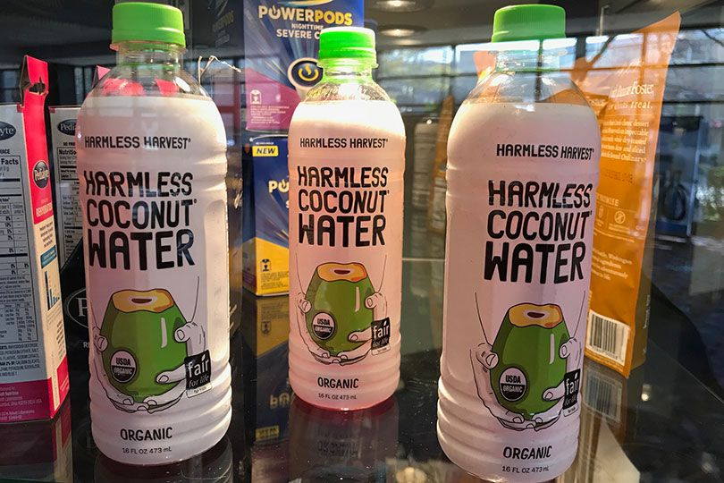 harmless coconut water