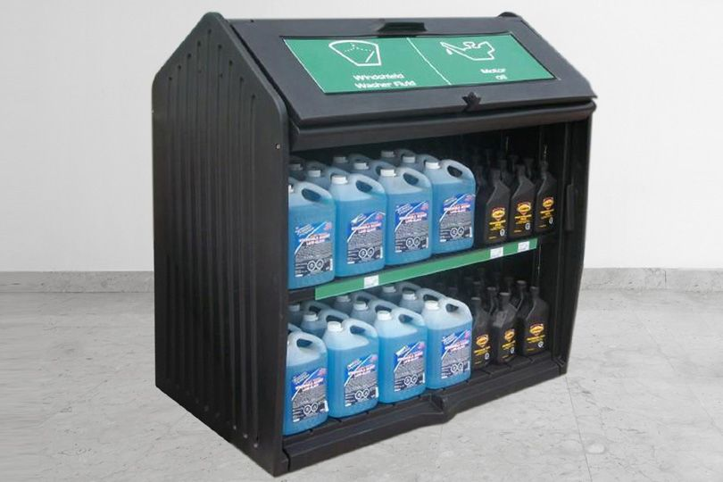 MasonWays Outdoor Locking Cabinet