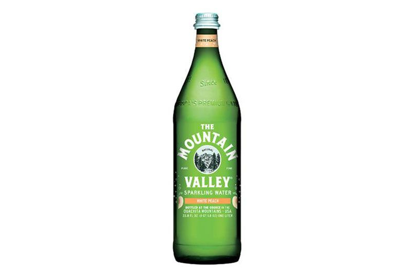 mountain valley water white peach