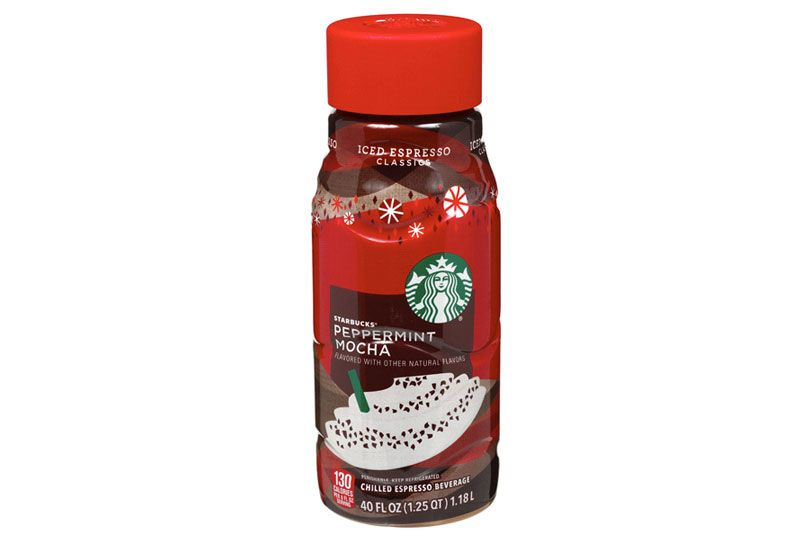 starbucks peppermint mocha and iced espresso classics