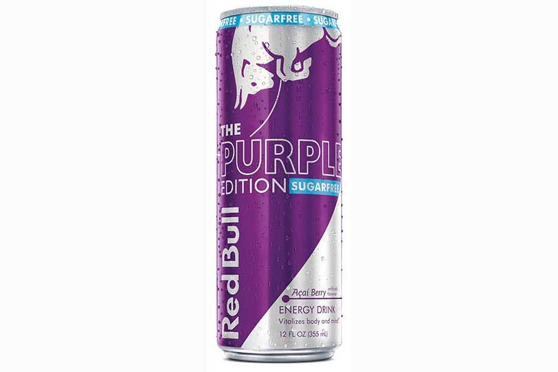 red bull purple