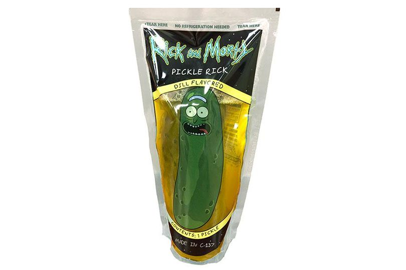 van holtens pickle rick