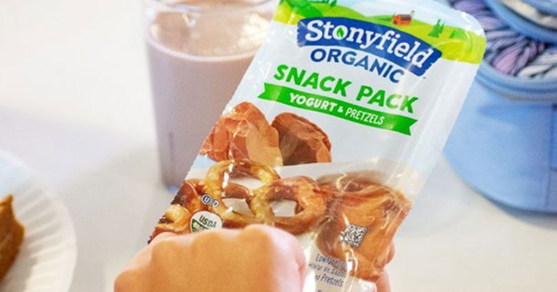 snack packs stonyfield organic