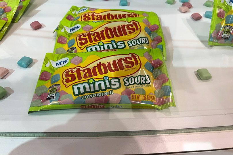starburst mini sours