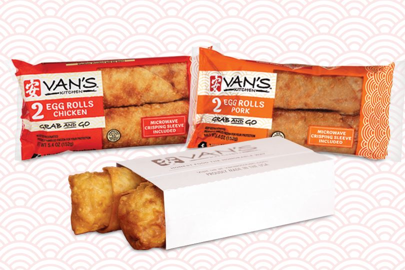 Van's Kitchen Grab & Go 2-pack Egg Rolls