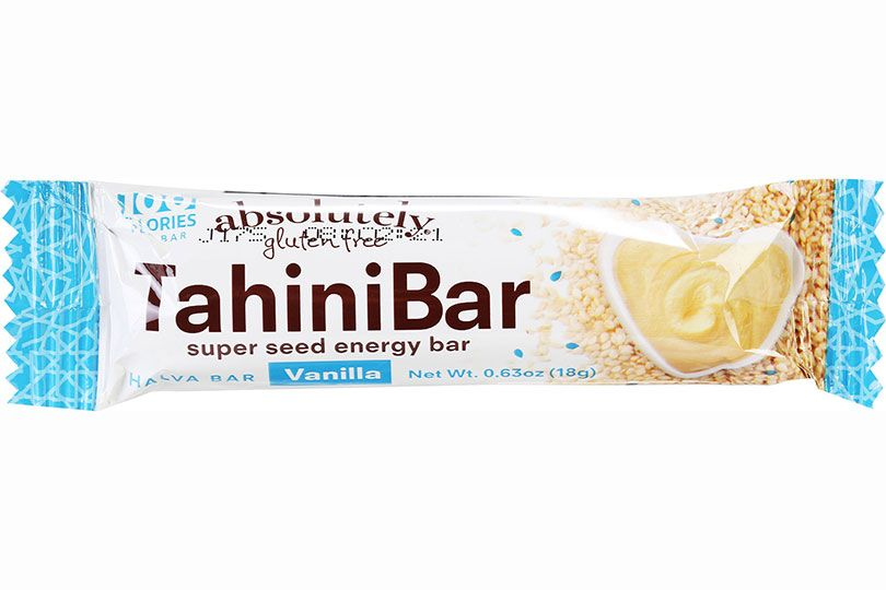 absolutely gluten free tahini bar