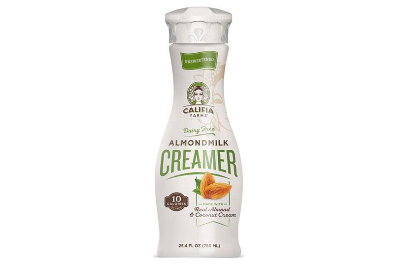almond milk creamer