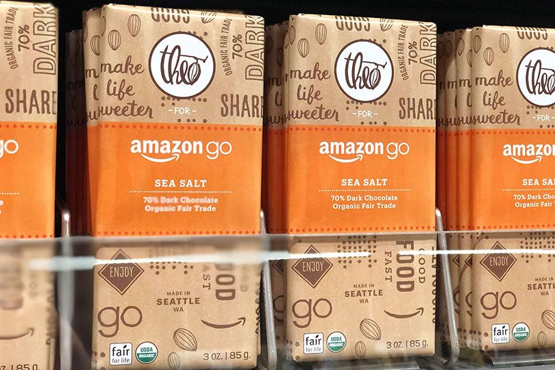 Check Out Amazon Go's Private-Label Products | CS Products