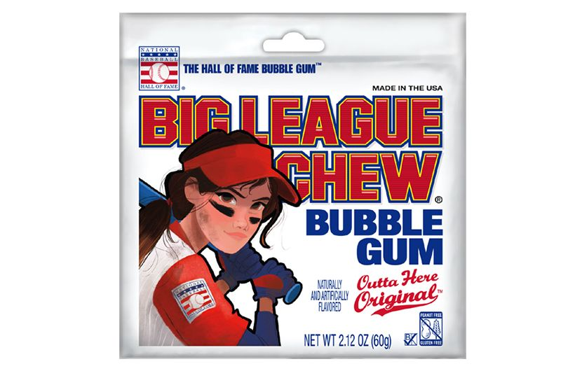 big league chew softball