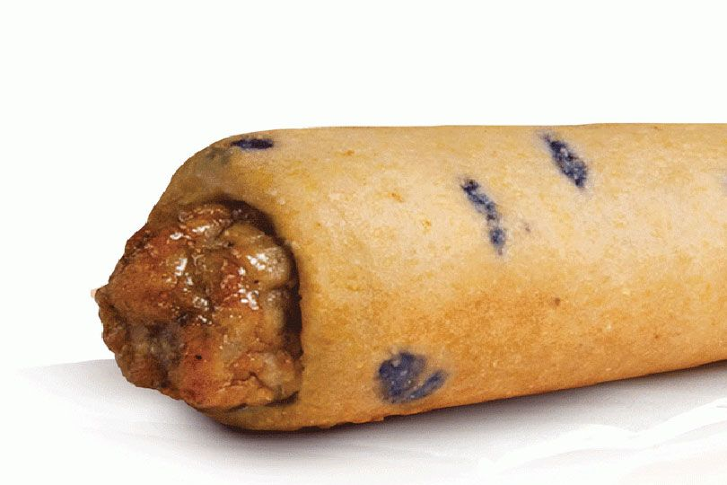 blueberry pancake sausage