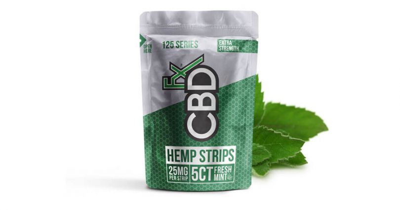 cbd mouth strips