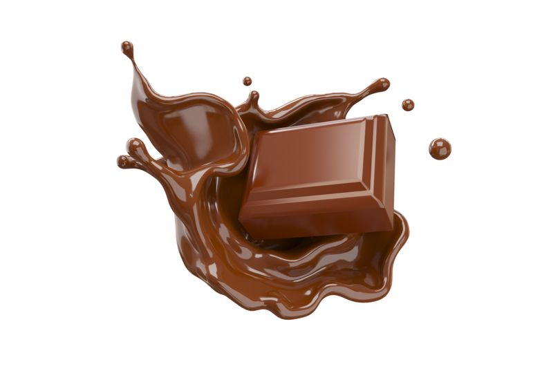 chocolate candy in chocolate
