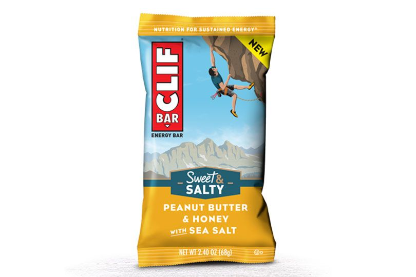 clif bar sweet and salty peanut butter and honey