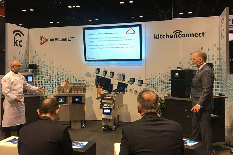 connected kitchens