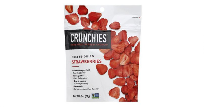 crunchies freeze dried strawberries