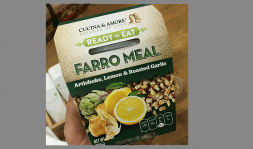Cucina and Amore, Farro Meal