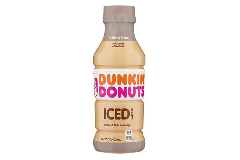 dunkin conuts cookies and cream iced coffee