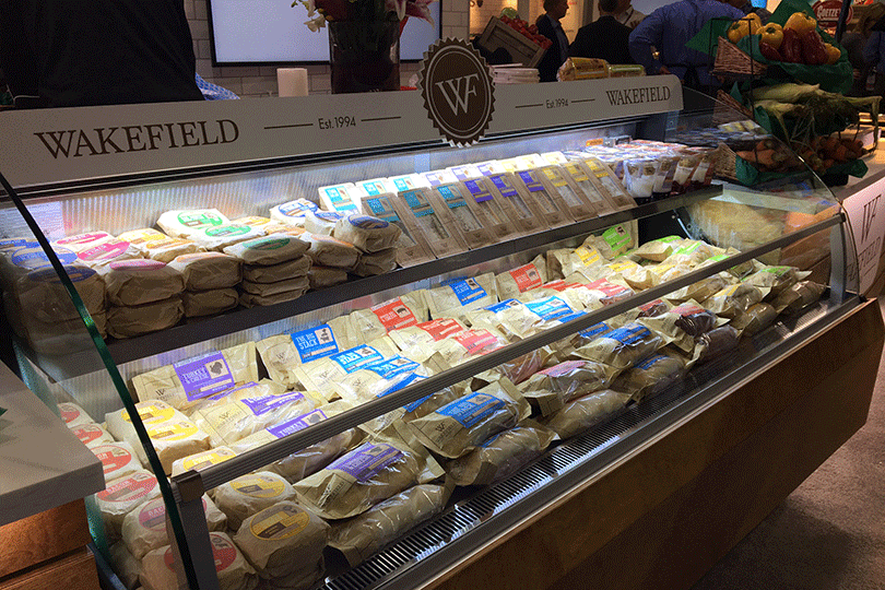 Wakefield's new branding and packaging