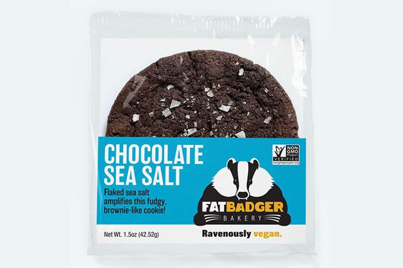 fat badger cookies chocolate sea salt