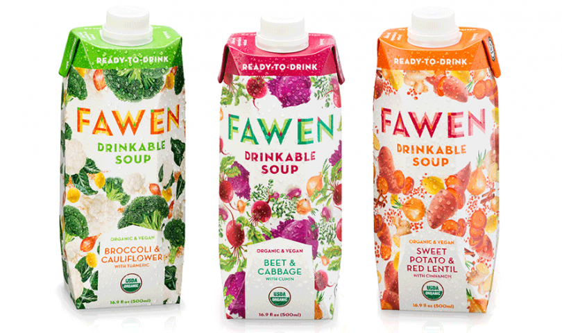Fawen Ready-to-Drink soup, Broccoli and Cauliflower