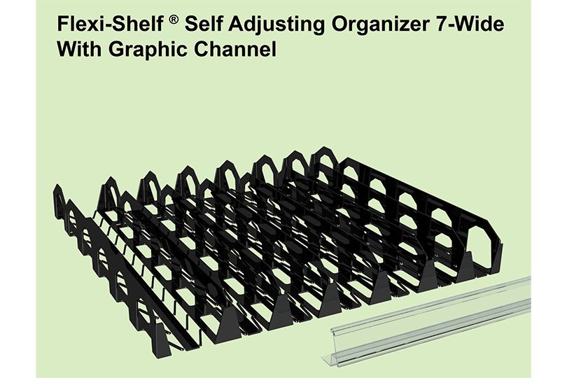 Flexi-Shelf by Display Technologies LLC