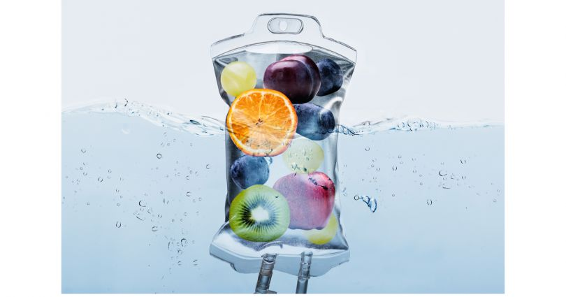 water with fruit in it, healthy drinks