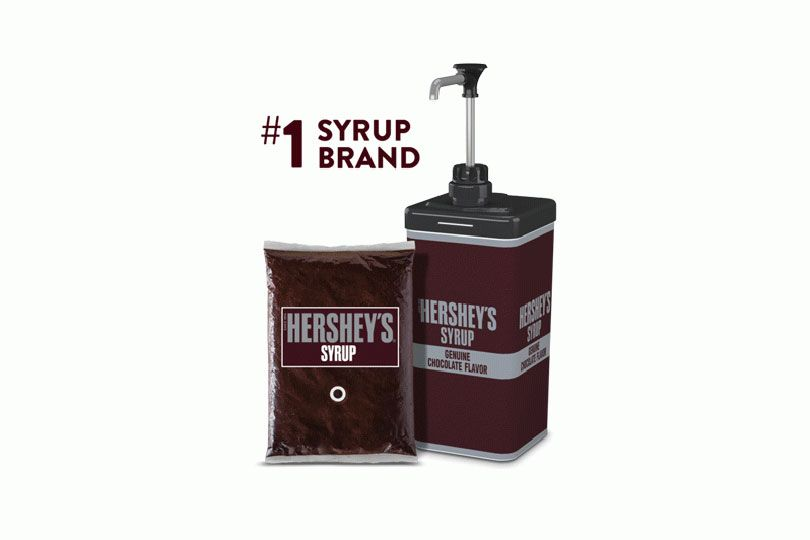 hershey syrup pouch
