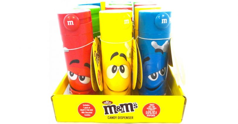 M&M's Slide Candy Dispensers