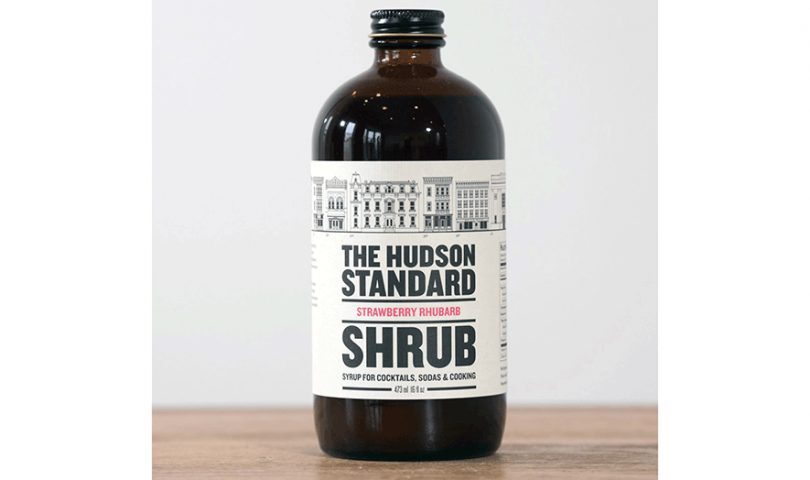 The Hudson Standard, Strawberry Rhubarb Shrub