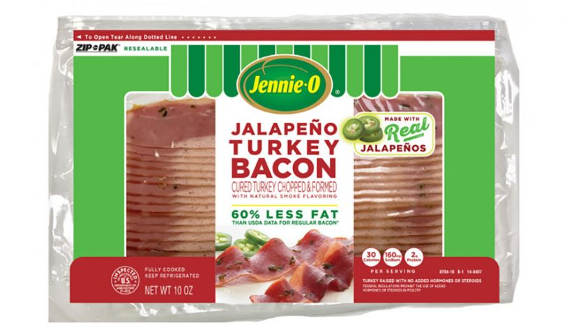 jennie o jalapeno turkey bacon