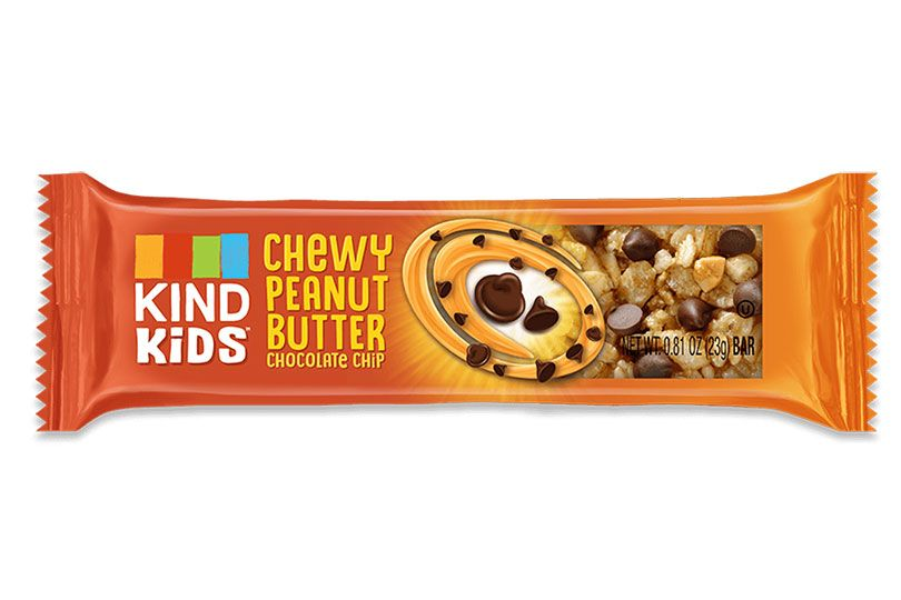 kind kids chewy peanut butter chocolate chip