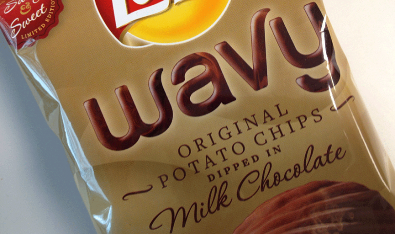Lay's Wavy Dipped in Chocolate