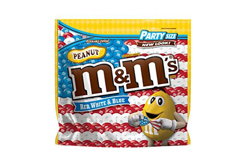 m&ms red white & blue