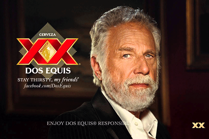 the most interesting man films final commercial for dos equis cs
