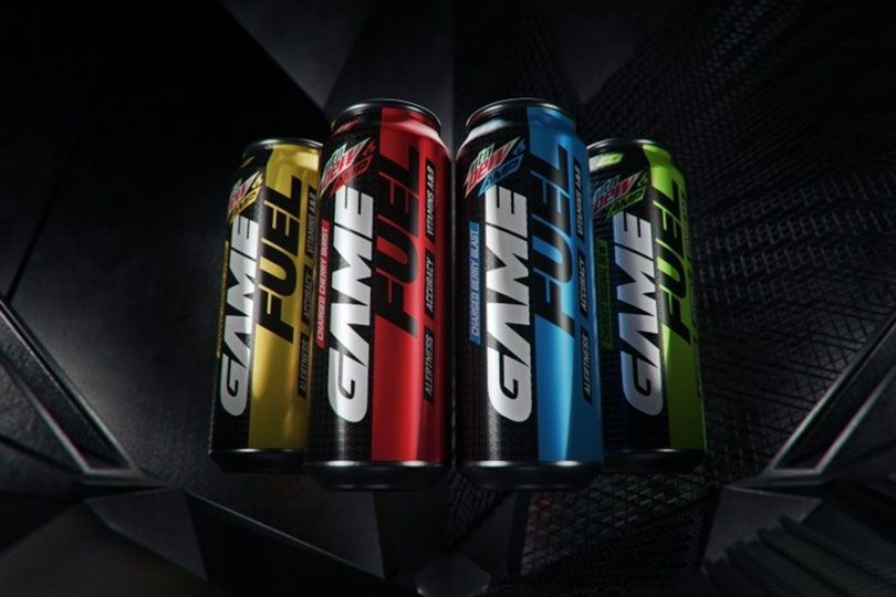 mountain dew game fuel
