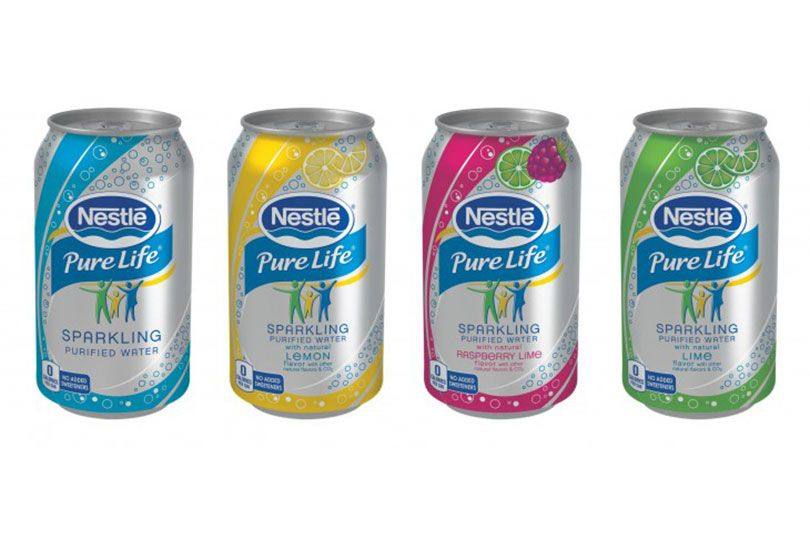 nestle sparkling waters