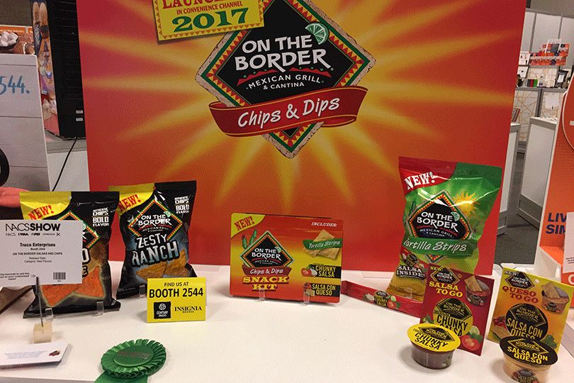 On the Border Salsas and Chips from Truco Enterprises
